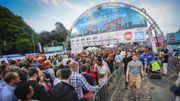 BSF 2014: Quelque 14.500 festivaliers sur la place des Palais