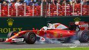 """Vettel : """"Pas aidés par le drapeau rouge"""""""