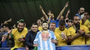 """Le sélectionneur brésilien Tite demande """"plus de respect"""" à Lionel Messi"""