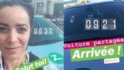 Vanessa Klak a testé... Zipcar