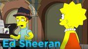 """""""Les Simpson"""": un aperçu de l'épisode avec Ed Sheeran"""