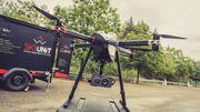 Un drone filaire utilisé pour la première fois en Belgique à l'occasion du Grand Prix F1