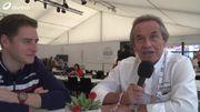 Rencontre entre la légende Ickx et l'espoir Vandoorne avant les 24 Heures du Mans