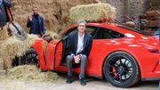 Porsche GT3 avec le scénariste de Michel Vaillant !!