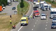 Circulation à l'arrêt sur le ring de Bruxelles suite à un accident à Beersel
