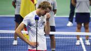 """Les regrets de Zverev, finaliste malheureux: """"J'ai eu beaucoup d'occasions"""""""