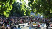 Un village d'artistes dans le Parc royal de Bruxelles