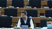 Patryk Jaki s'est exprimé vers 11h30 mardi 23 juin au Parlement européen