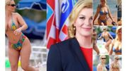 Kolinda Grabar-Kitarovic, la président croate, star du web pour son fair-play... et ses fausses photos en bikini