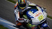 Morbidelli s'impose en Moto 2, Siméon chute et abandonne