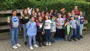 Notre classe de Niouzz de St-Michel à Jette