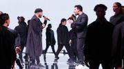 Slimane et Guillaume retournent le plateau avec 'Je suis un homme'