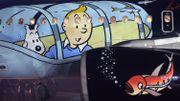 BD: des lots Tintin partent pour quelques milliers d'euros