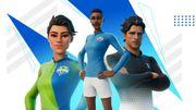 Fortnite s'associe à des clubs de football pour de nouveaux skins