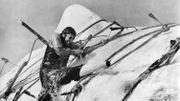 """Gregory Peck incarne le capitaine Achab obnibulé par le cachalot blanc """"Moby Dick"""""""