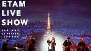 Jacques Dutronc a été invité à chanter lors de la 9e édition du défilé Etam.