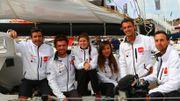 Delphine, Tanguy et l'équipe #FastnetCAP48 dans le top !