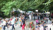 """La """"Foire aux puces """" à TILFF rassemblant plus de 500 exposants et drainant chaque année, le jour du 15 Août, plus de 10.000 personnes"""