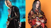 Thom Yorke valide Billie Eilish ...et seulement elle