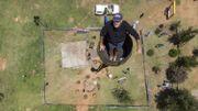 Vernon Kruger à 25 mètres de haut