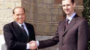 Bachar al-Assad et Silvio Berlusconi