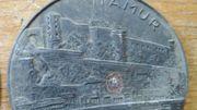 L'une des médailles retrouvée par Ju et Jo