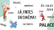 """""""Là, faites du cinéma !"""" : un week-end d'ateliers et initiation au cinéma"""