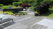 Un jardin où l'eau est l'élément dominant