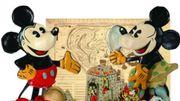Les produits produits dérivés de Mickey mis aux enchères
