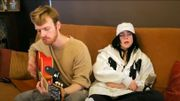 "Billie Eilish et son frère Finneas chantent ""Bad Guy"" en confinement"