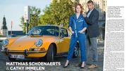 Cathy et Matthias Schoenaerts ensemble ... pour Ciné Télé revue