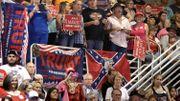 Les supporters de Donald Trump lors d'un meeting en Floride à Jacksonville