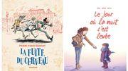 """""""La fuite du cerveau"""" et """"Le jour où la nuit s'est levée"""": deux BD pour buller entre fantaisie et feel good"""