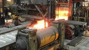 On lamine à La Louvière des métaux destinés à des marchés porteurs.