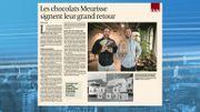 Fondé en 1845, les chocolats Meurisse font leur grand retour avec toute une gamme de produits bio
