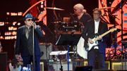"Eric Clapton, Van Morrison et Nick Mason au ""Music for the Marsden"""