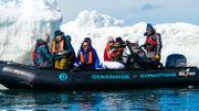 Les voyageurs explorent la mer de Weddell, une région beaucoup moins visitée par les expéditions touristiques.