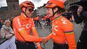 Greg Van Avermaet et Marianne Vos évoluent tous les deux dans l'équipe CCC cette saison.
