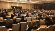 Les participants lors de la session d'ouverture à Pékin, le 17 novembre 2019