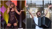 Taylor Swift et Claudio Capéo cartonnent tous les deux avec leur nouvel album