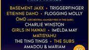 Basement Jaxx et Charlie Winston à l'affiche du Brussels Summer Festival