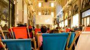 Des séances de cinéma dans les Galeries Royales à Bruxelles