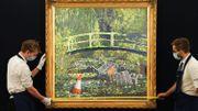 Le tableau de Banksy d'après Monet adjugé à 8,5millions d'euros