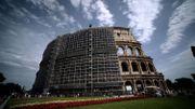 Fin de la première phase de restauration du Colisée