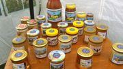 Les différentes variétés de miel d'abeille noire