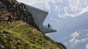 Zaha Hadid signe un musée perché dans les Alpes