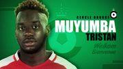 Muyuba, 20 ans, prêté par Monaco au Cercle Bruges