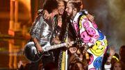 Aerosmith renoue avec le rap aux VMA