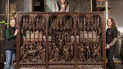 Le retour de saint Georges: le retable flambant neuf est revenu au Musée Art & Histoire