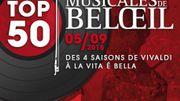 Le château de Beloeil accueille le plus grand festival de musique classique de Belgique